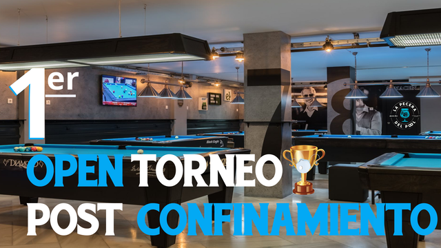 1er OPEN TORNEO POST CONFINAMIENTO